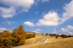 Transalpina, the highest altitude road in Romania Stock Image