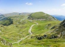 Transalpina mountain highway Royalty Free Stock Images