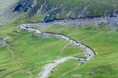 Transalpina mountain highway Stock Image