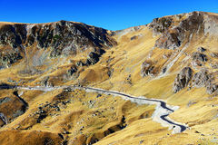 Transalpina Mountain Road Royalty Free Stock Photo