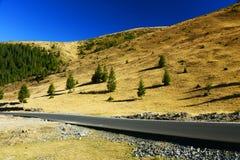 Transalpina Mountain Road Royalty Free Stock Photo