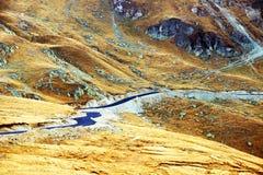 Transalpina Mountain Road Royalty Free Stock Photos