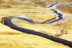 Transalpina Mountain Road Stock Photography