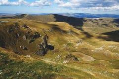 Transalpina mountain road Royalty Free Stock Photography