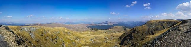 Transalpina panorama Obrazy Stock