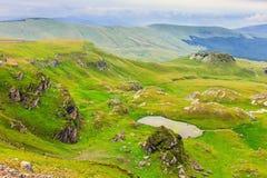Transalpina, Parang Mountains, Romania Royalty Free Stock Images