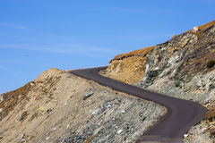 Transalpina road Stock Photos