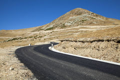 Transalpina road Stock Image