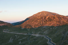 Transalpina road Royalty Free Stock Photography