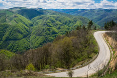 Transalpina road, Romania Stock Photos