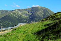 Transalpina Road, Transylvanian Alps,  Romania Royalty Free Stock Photography