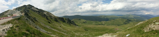 Transalpinaweg in Roemenië Royalty-vrije Stock Afbeelding