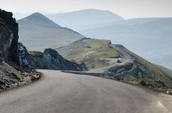 Transalpine road. Highest road in Romania Transalpine Royalty Free Stock Photography