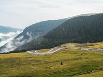 TRANSALPINE view Stock Images