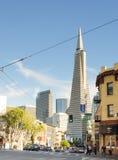 Transamerica大厦在旧金山 库存照片