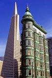 Transamerica大厦 库存图片