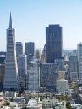 Transamerica银行大楼在旧金山 库存照片