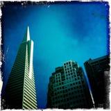 Transamerica établissant le temps de jour de San Francisco Photographie stock libre de droits
