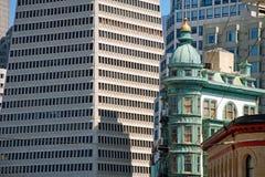 Transamerica bank building in San Francisco Stock Photography