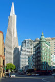 Transamerica bank building in San Francisco Royalty Free Stock Image