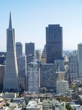 Transamerica bank building in San Francisco Stock Photo