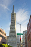 Transamerica Buildin in San Francisco Royalty Free Stock Image