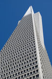 Transamerica Building. The Transamerica building serves as a notable landmark over San Francisco, CA Stock Images