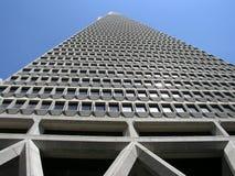 Transamerica die San Francisco, Californië bouwt Stock Foto