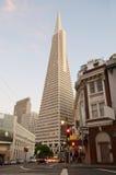 Transamerica Kontrollturm San Francisco Stockfotos