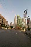 Transamerica Kontrollturm San Francisco Lizenzfreie Stockfotografie