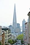 Transamerica ostrosłup San Fransisco projektujący William Pereira Obraz Stock