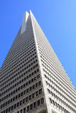 Transamerica pyramid San Francisco. USA, San Francisco - Transamerica pyramid and surroundings Stock Photo