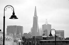 Transamerica Pyramid in San Francisco - California USA Royalty Free Stock Image