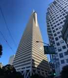 The Transamerica Pyramid, San Francisco, 3. When San Francisco`s Transamerica Pyramid opened in 1972, it was the tallest building west of Chicago, eighth Stock Image