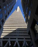 The Transamerica Pyramid, San Francisco, 2. When San Francisco`s Transamerica Pyramid opened in 1972, it was the tallest building west of Chicago, eighth Stock Photo