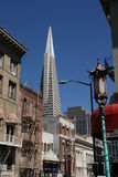 The Transamerica Pyramid Royalty Free Stock Images