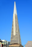 Transamerica Pyramid skyscraper Royalty Free Stock Image