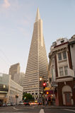 Transamerica Tower San Francisco. Transamerica in downtown San Francisco between Northbeach and Chinatown Stock Photos