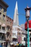 Transamericatoren, San Francisco, Californië royalty-vrije stock foto