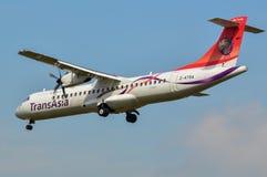 Transasia ATR72 Στοκ εικόνα με δικαίωμα ελεύθερης χρήσης