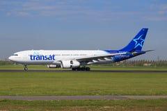 Transat航空公司 图库摄影