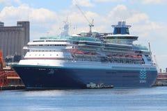 Transatlantic Cruise Season in Rio de Janeiro Stock Photos