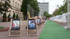 Transatlantic Festival Lodz Royalty Free Stock Image
