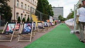 Transatlantic Festival Lodz Stock Images