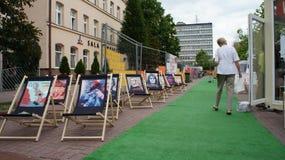 Transatlantic Festival Lodz Royalty Free Stock Photos