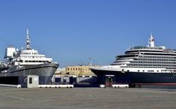 Transatlantic in the port of Cadiz Royalty Free Stock Images