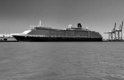 Transatlantic in the port of Cadiz Spain Stock Images