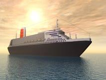 Transatlantico Fotografia Stock