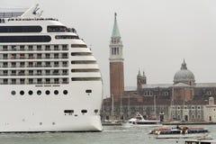Transatlantico a Venezia Immagine Stock