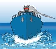 Transatlantisch blauw Stock Afbeeldingen